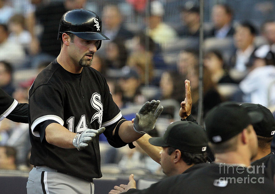 Paul Konerko Photograph by Jim Mcisaac