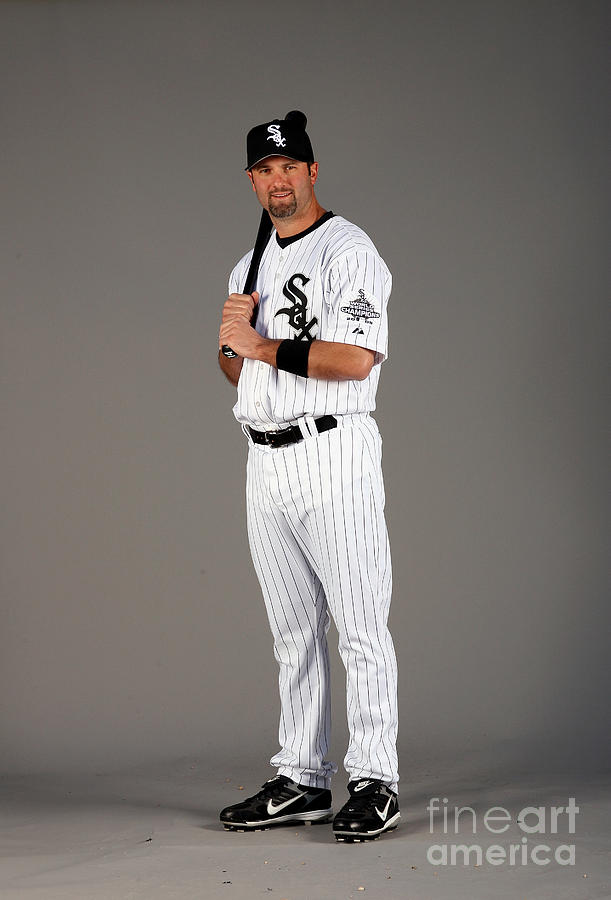 Paul Konerko Photograph by Otto Greule Jr