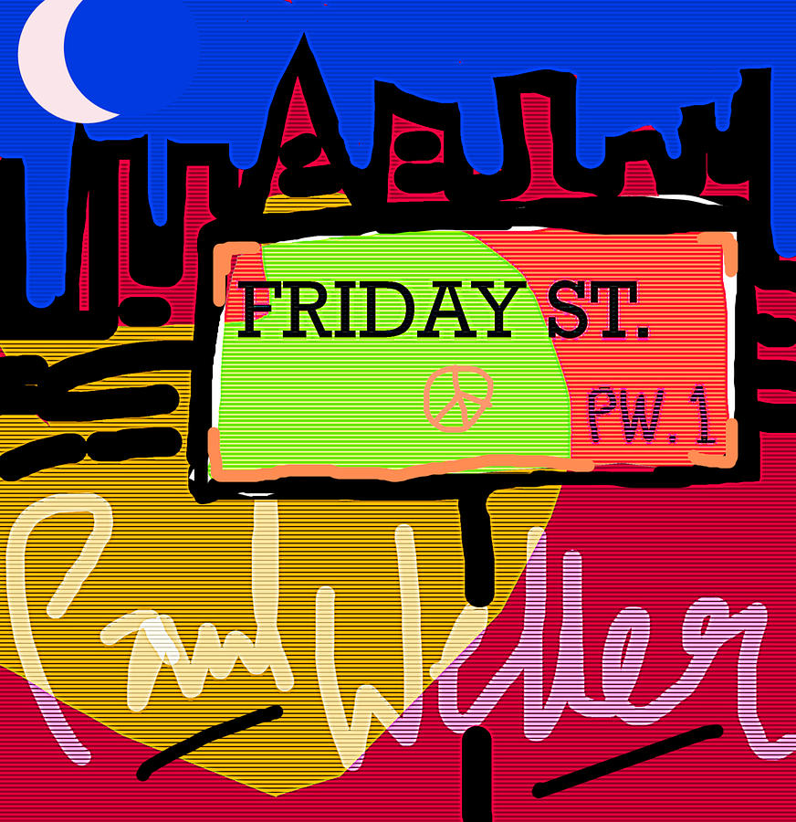 Paul Weller  Friday Street 1997  by Enki Art