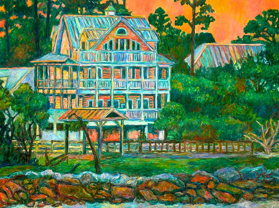 Landscape Painting - Pawleys Island Evening by Kendall Kessler