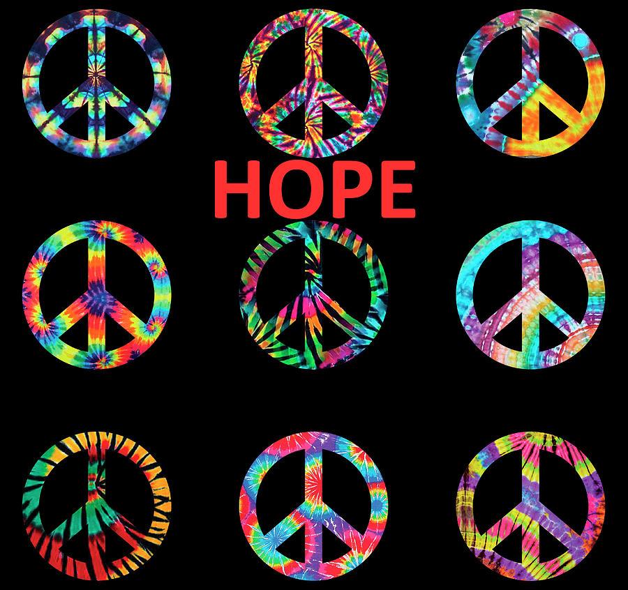 Peace And Hope Mixed Media