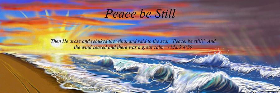 Peace Be Still Digital Art
