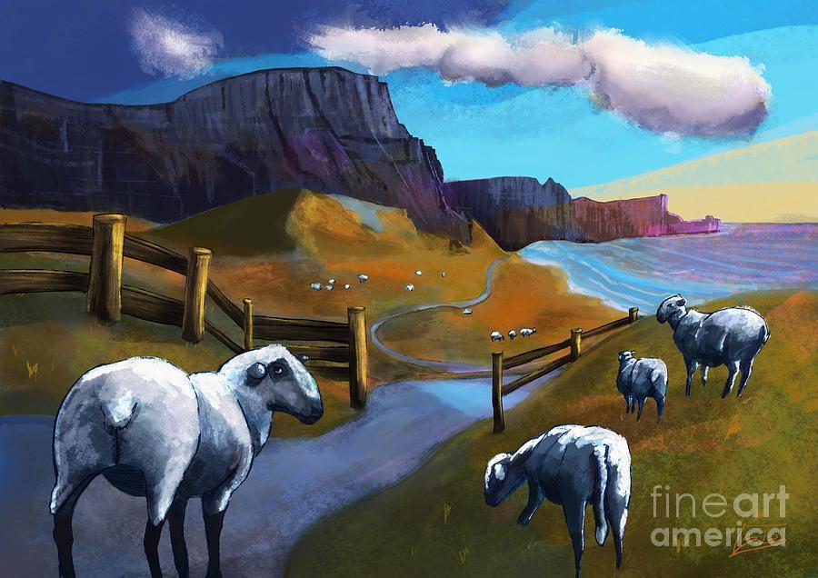 Peaceful landscape  by Lidija Ivanek - SiLa