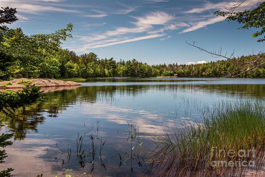 Peaceful Lower Hadlock Pond Photograph