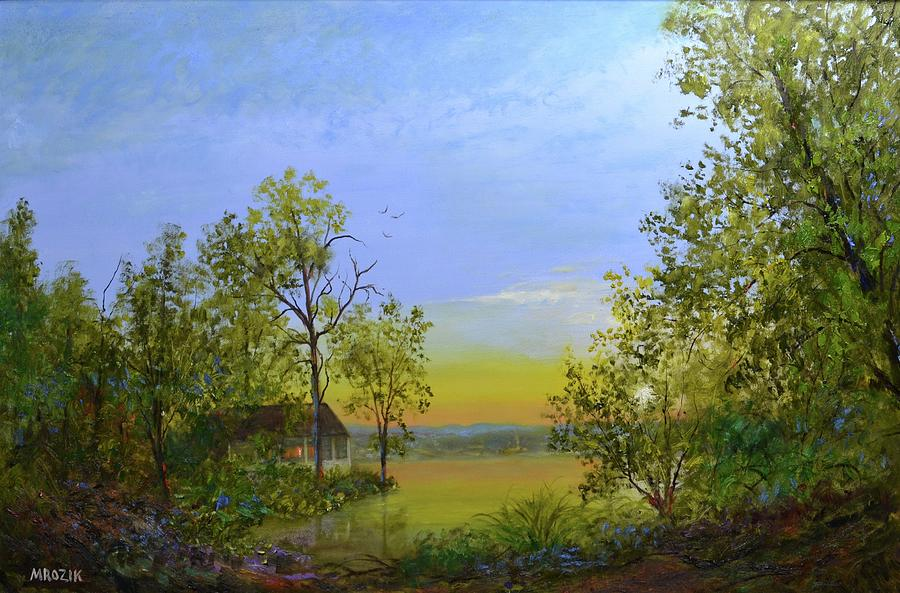 Peaceful Retreat Painting