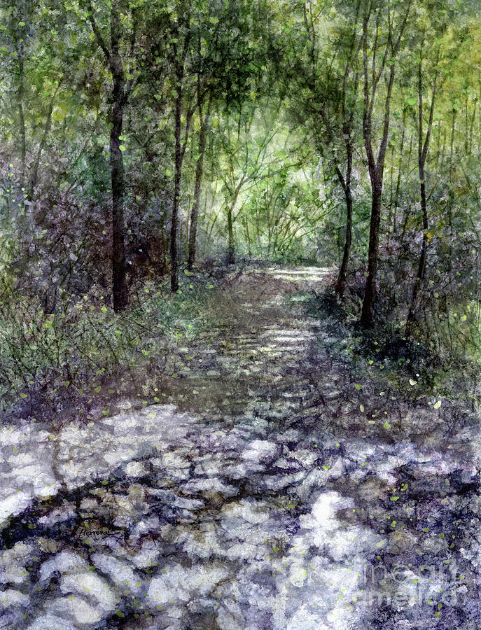 Peaceful Walk Painting