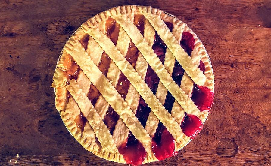 Peacherry Pie Photograph