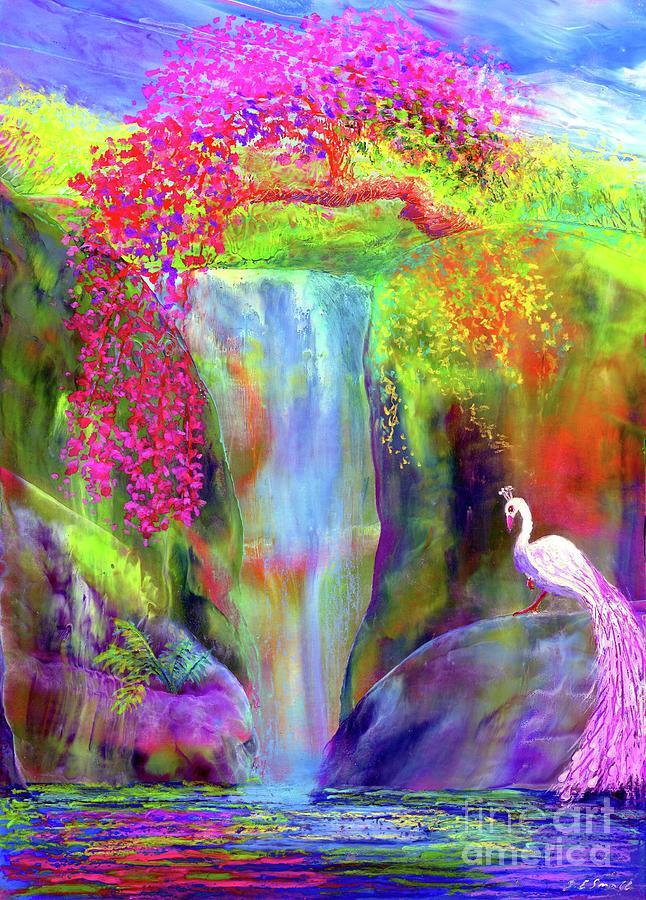 Peacock Falls Painting