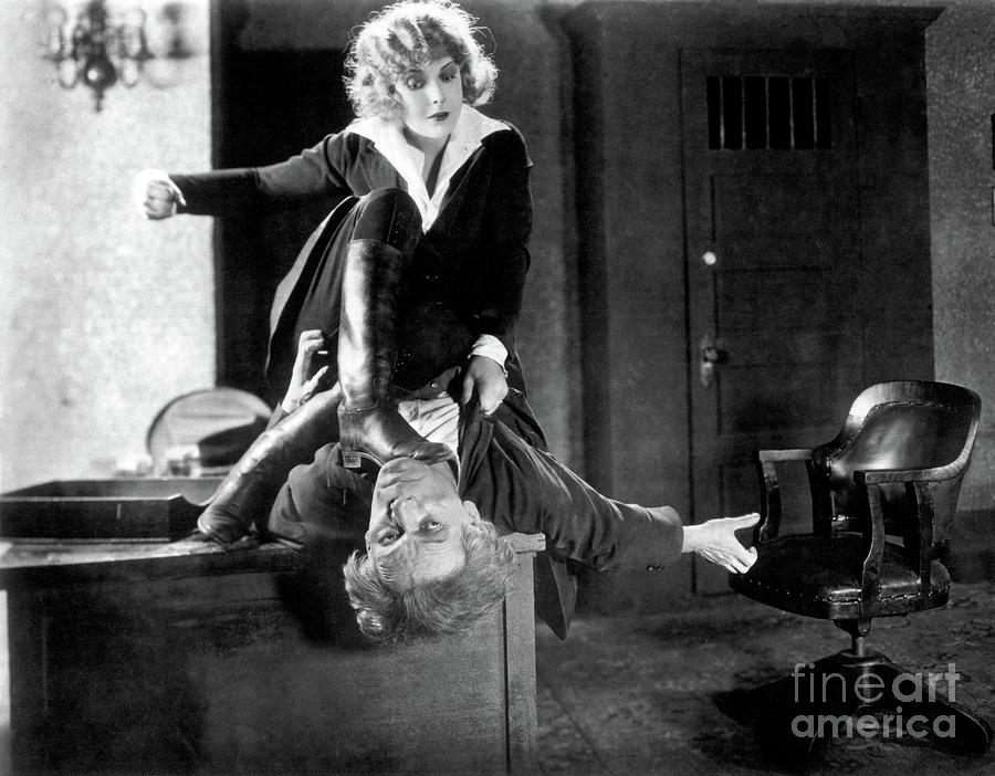 Pearl White Photograph - Pearl White - Plunder - 1923 by Sad Hill - Bizarre Los Angeles Archive