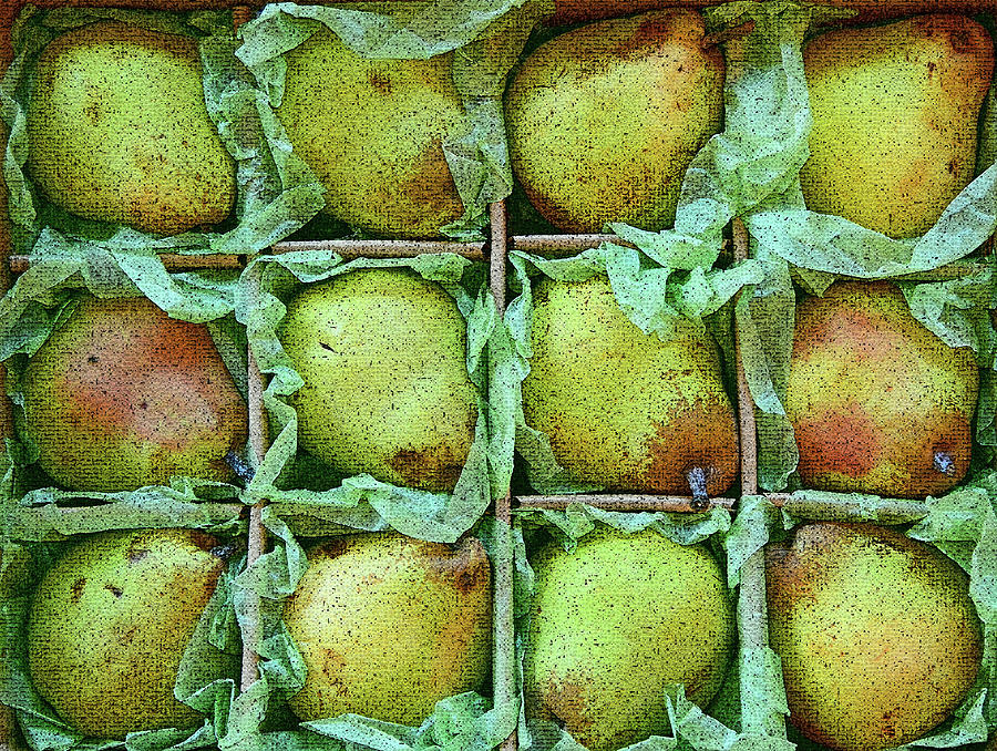 Pears For Sale Photograph