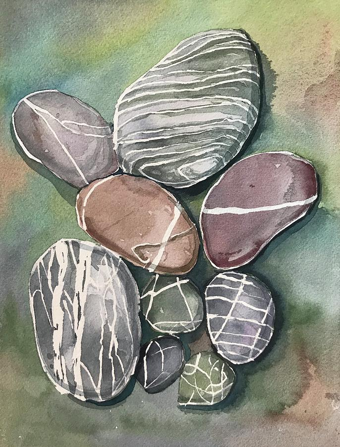 Pebbles Painting