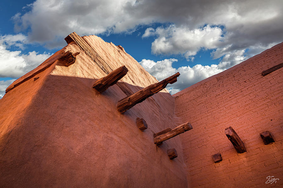Pecos Church by Endre Balogh