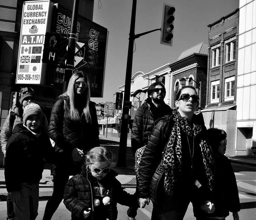 Pedestrians Photograph