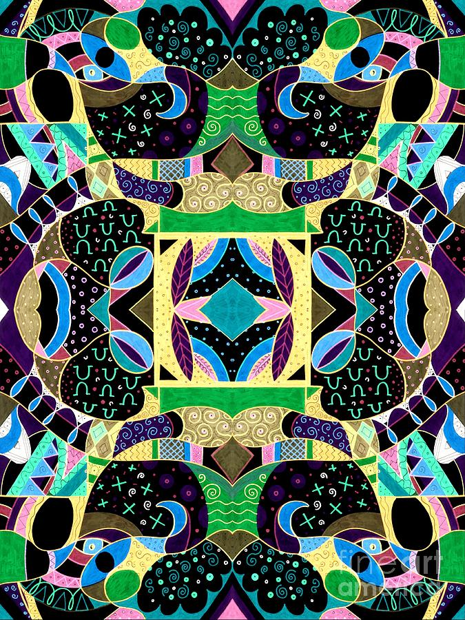 Peek - A - Boo Compilation 2 Inverted Version Mixed Media