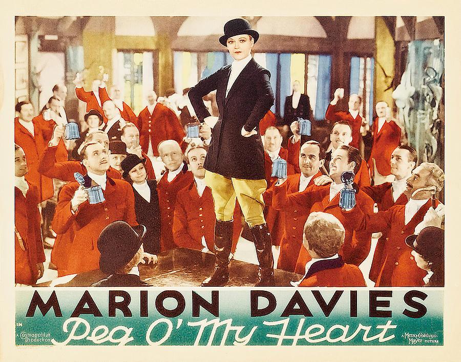 peg O My Heart, With Marion Davies, 1933 Mixed Media