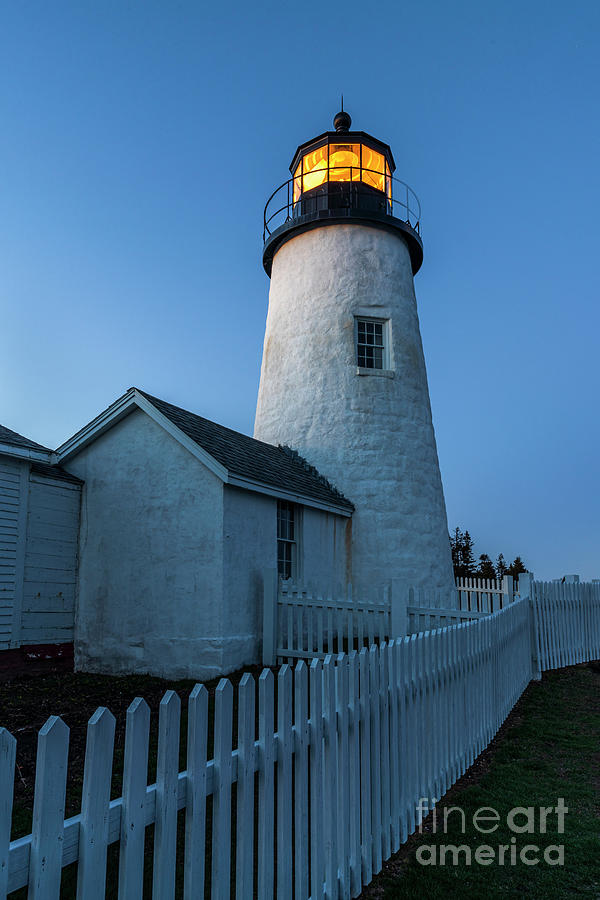 Pemaquid Blue Hour by Craig Shaknis