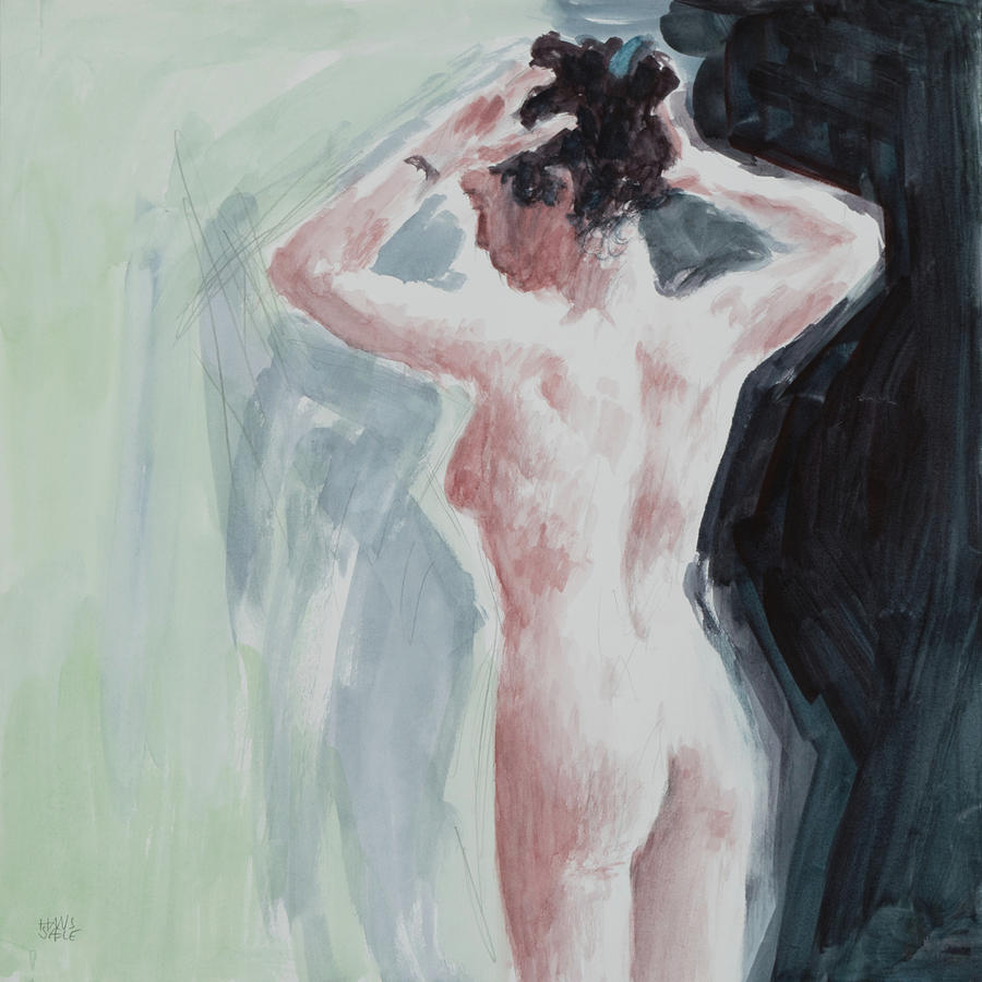 Pemberley Revisited - Figure painting  by Hans Egil Saele