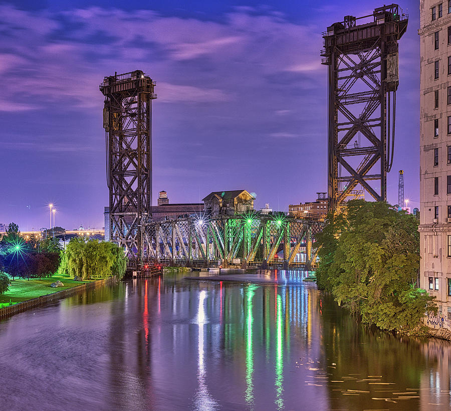Penn Railroad Bridge Photograph