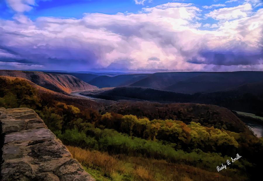 Pennsylvania Landscape by Rusty R Smith