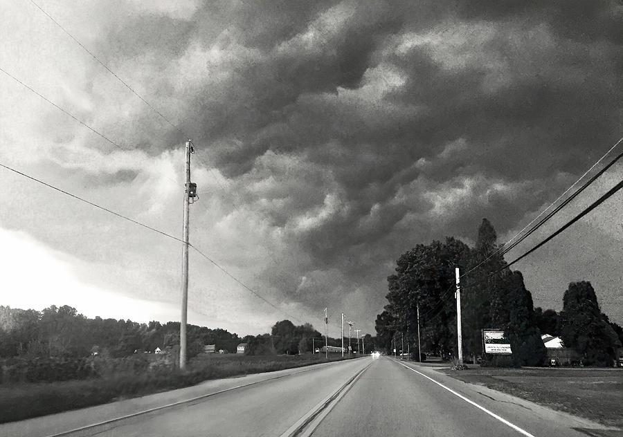 Pennsylvania Supercell Thunderstorm Photograph