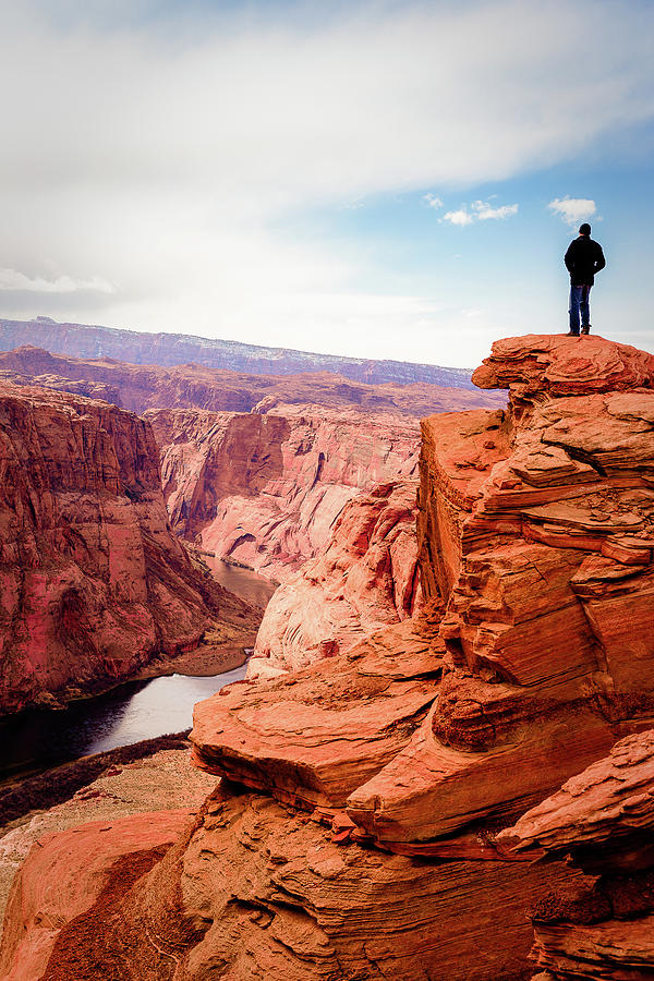 Pensive View In Arizona Photograph