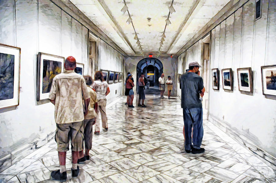 People In the Smithsonian by PAUL COCO