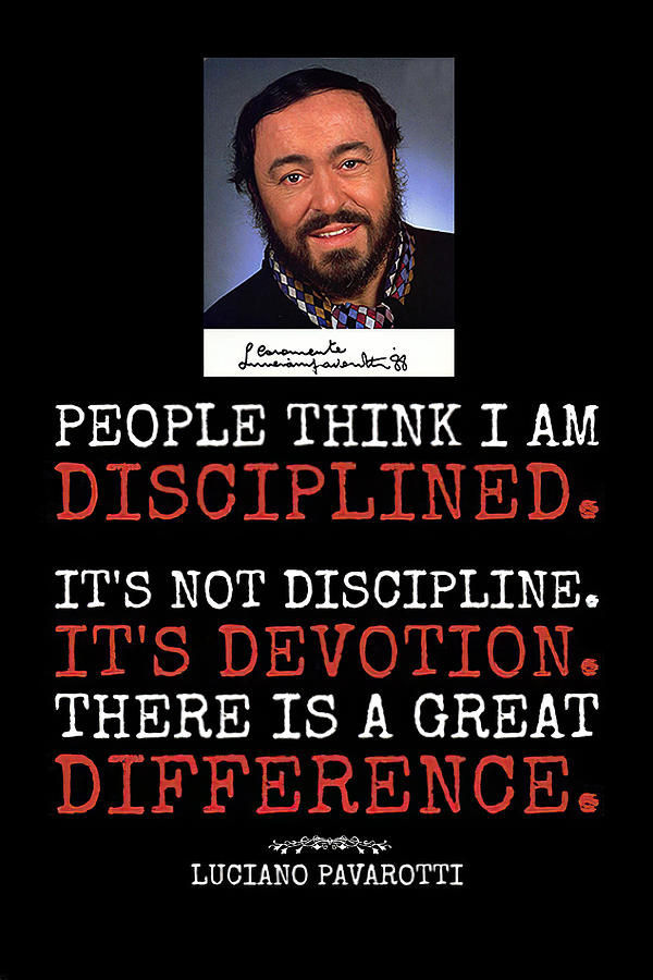 People Think I Am Disciplined by Floyd Snyder