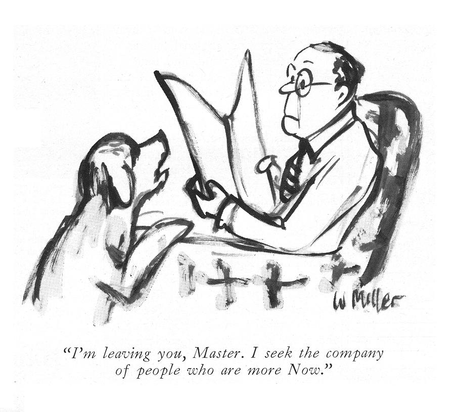 People Who Are More Now Drawing by Warren Miller
