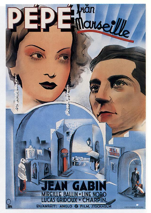 pepe Le Moko, 1937 Mixed Media