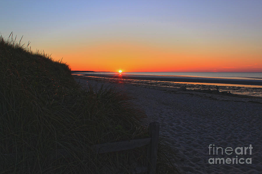 Nature Photograph - Perfect End To Another Day On Cape Cod by Sharon Mayhak