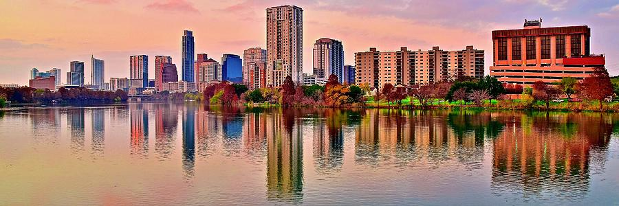 Perfect Pano In Austin Photograph