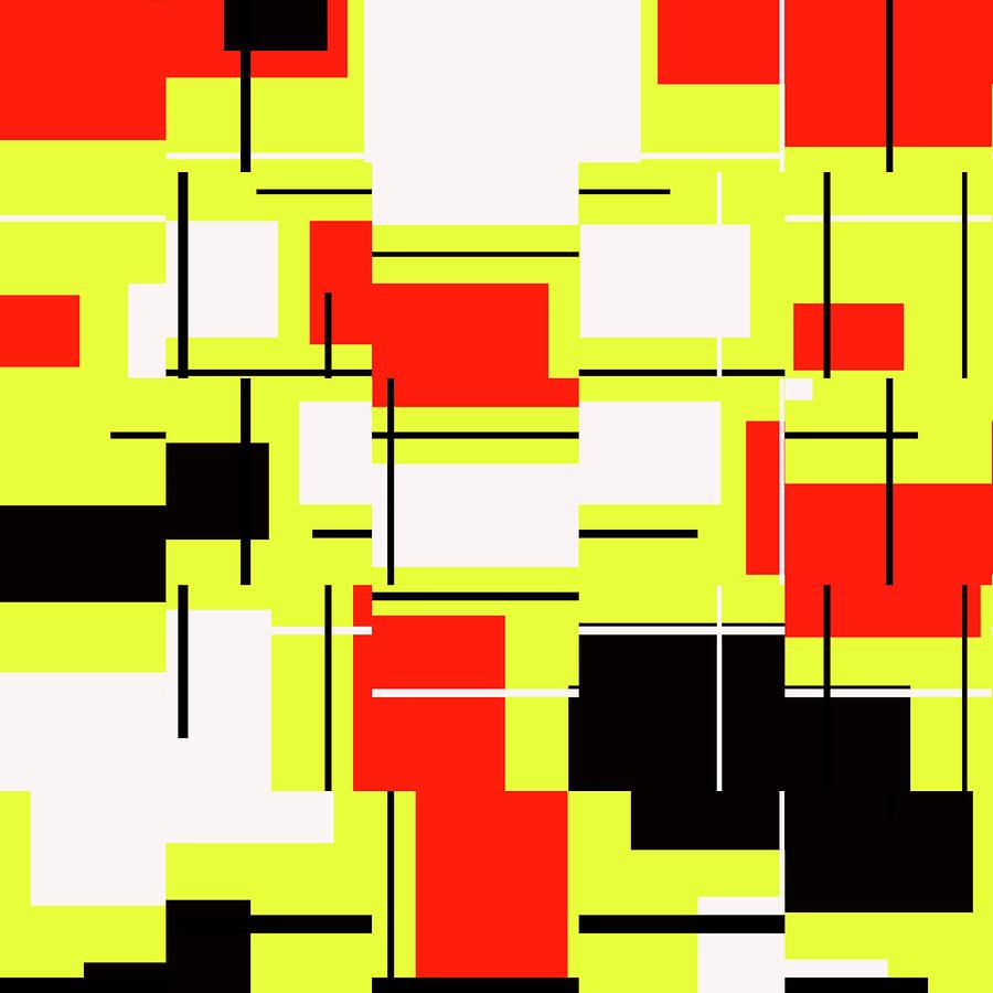 Modern Digital Art - Perfectly Patterned 2 by Jeremy Edsall