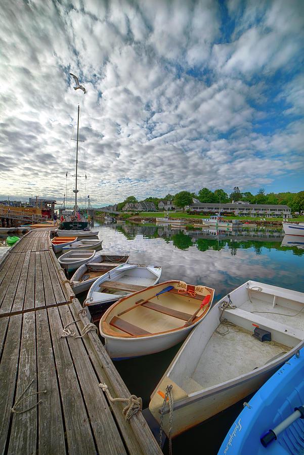 Perkins Cove - Ogunquit, Maine Photograph