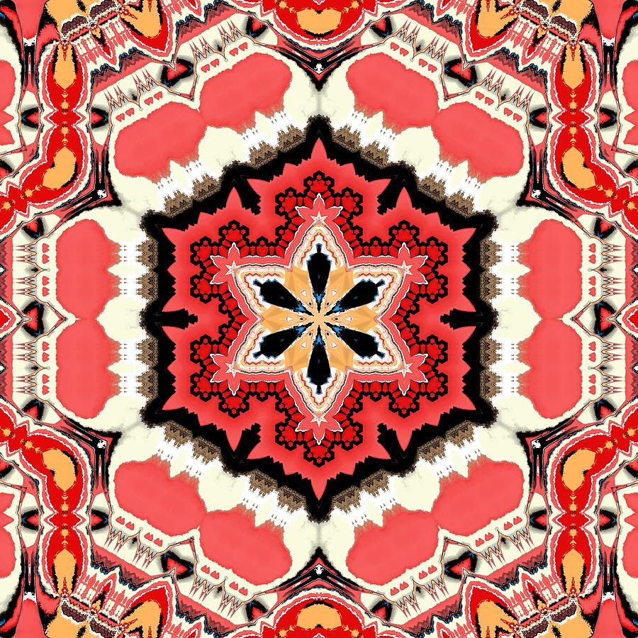Michal Painting - Persian Carpet by Michal Mitak