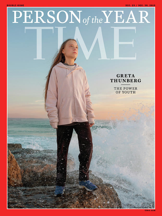 Time Photograph - 2019 Person of the Year - Greta Thunberg by Photograph by Evgenia Arbugaeva for TIME