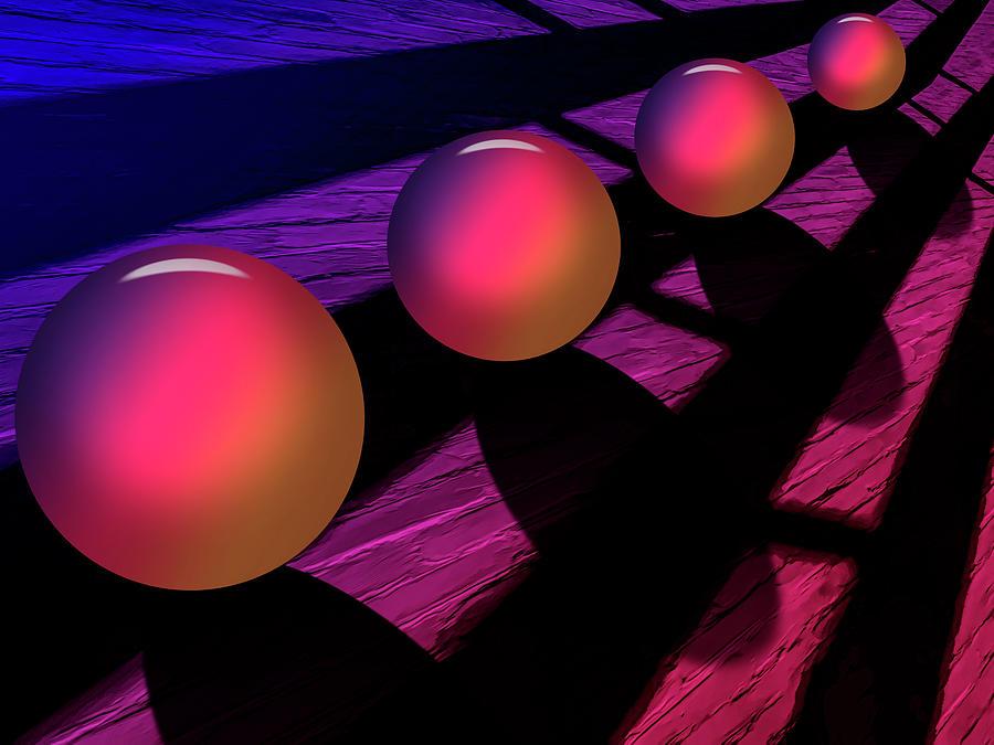 Perspective In Color Digital Art