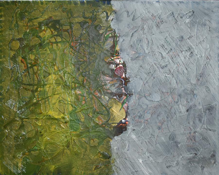 Green Painting - Perspectives by Pam Roth OMara