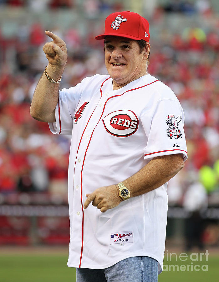 Pete Rose Photograph by Andy Lyons