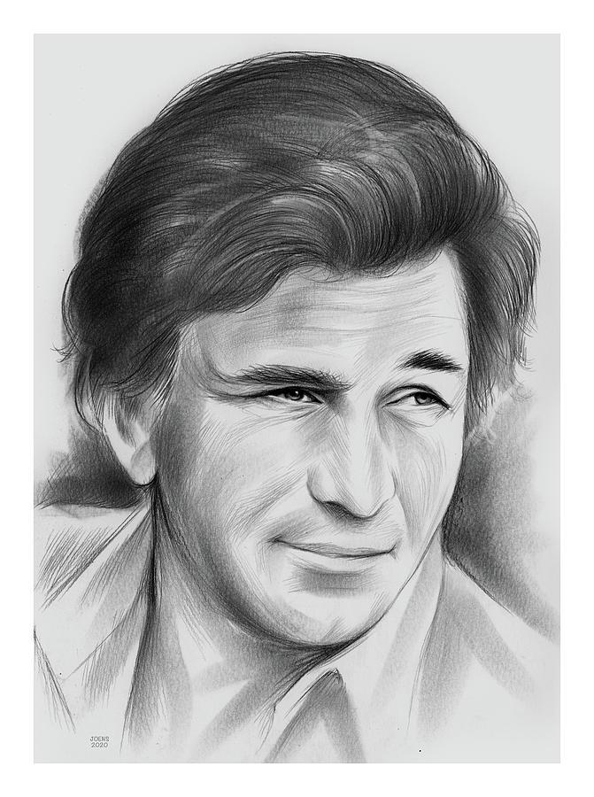 Peter Falk - Pencil Drawing