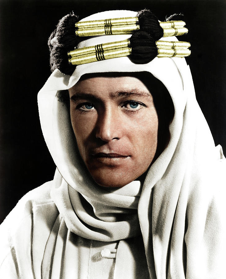 Peter Otoole In lawrence Of Arabia Mixed Media