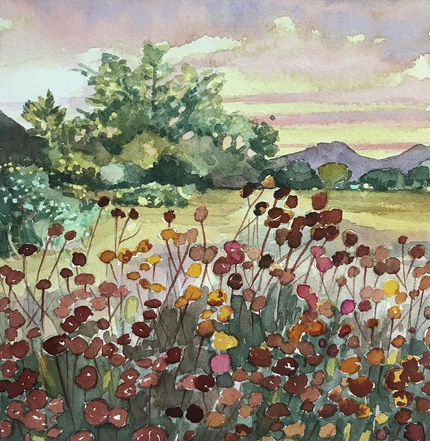 Peter Strauss Ranch Seed Heads Painting