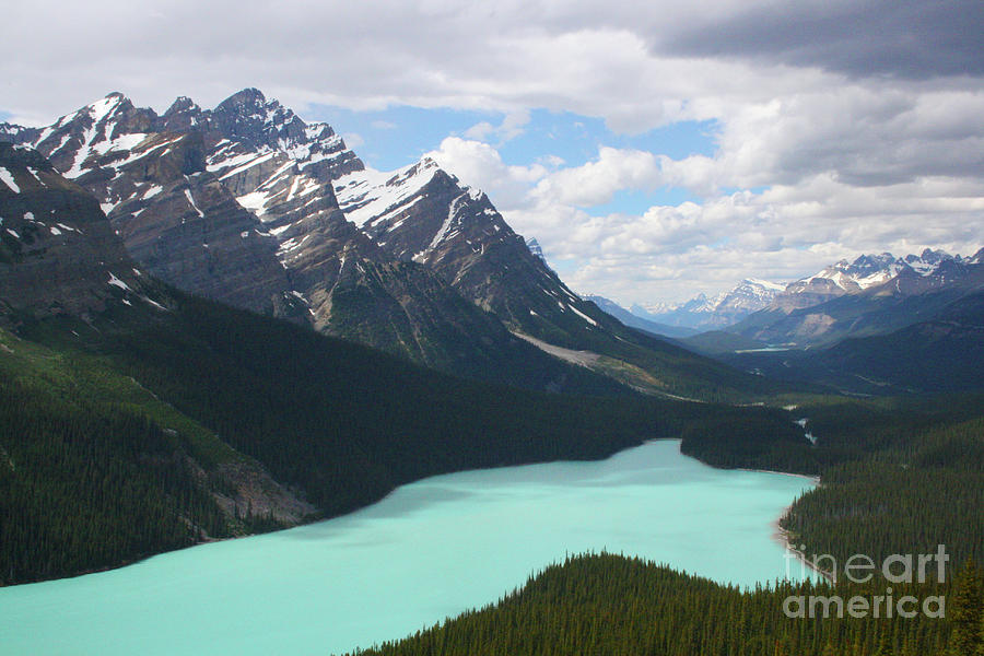 Canada Photograph - Peyto Lake by Mary Mikawoz