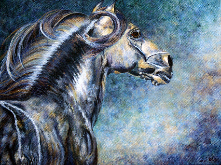 Phantom Horse Painting