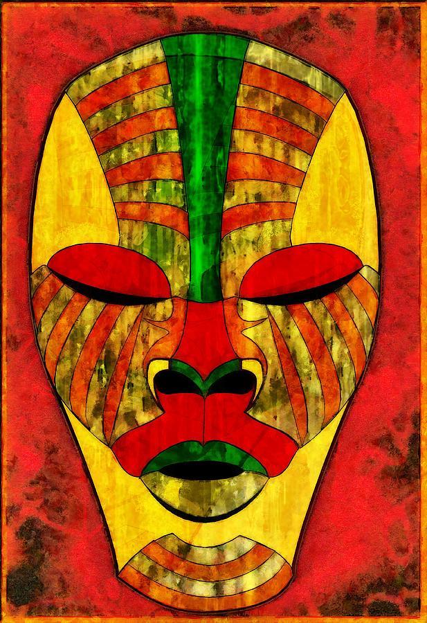 Pharaohs Mask Digital Art