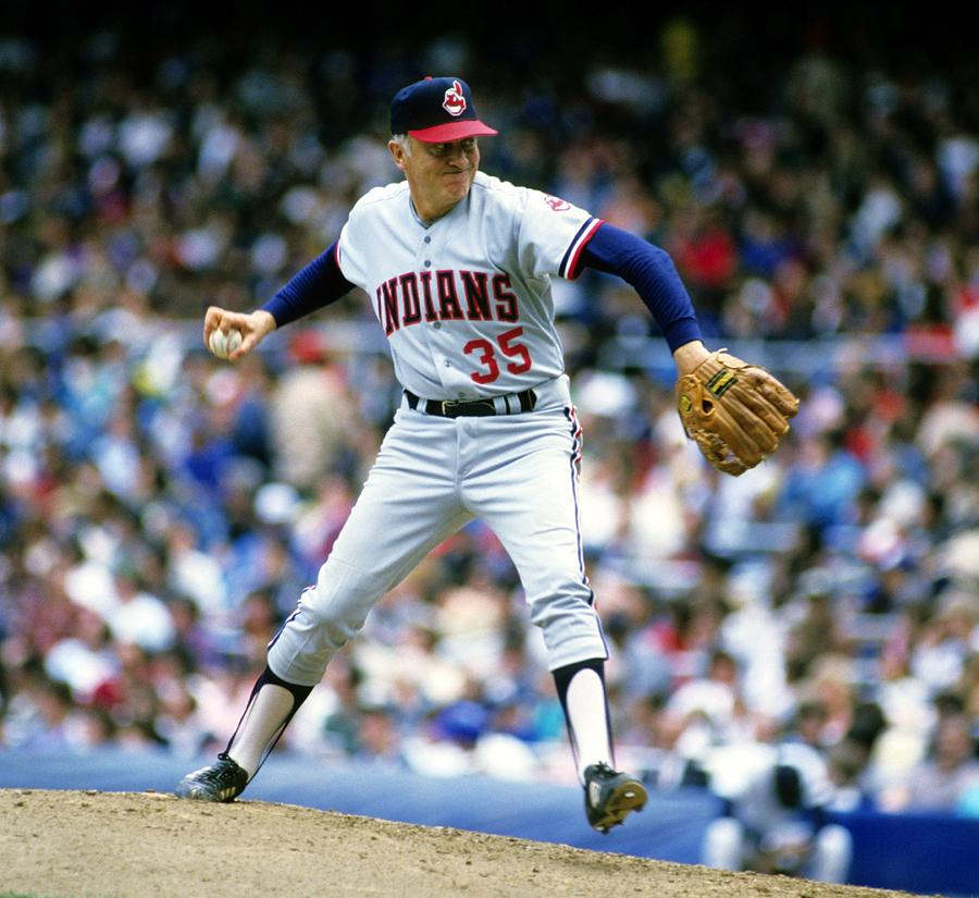 Phil Niekro Photograph by Ronald C. Modra/sports Imagery