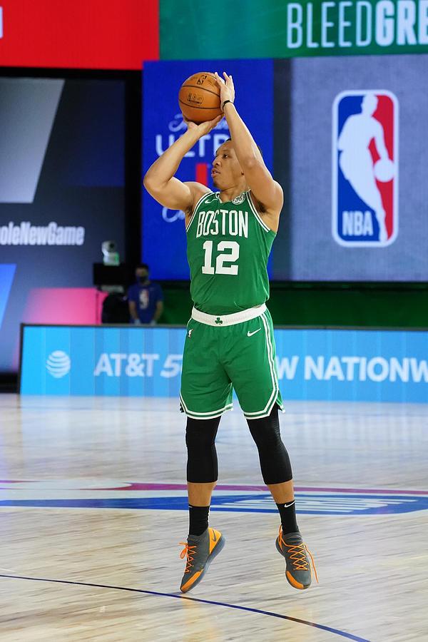 Philadelphia 76ers v Boston Celtics - Game Two Photograph by Jesse D. Garrabrant