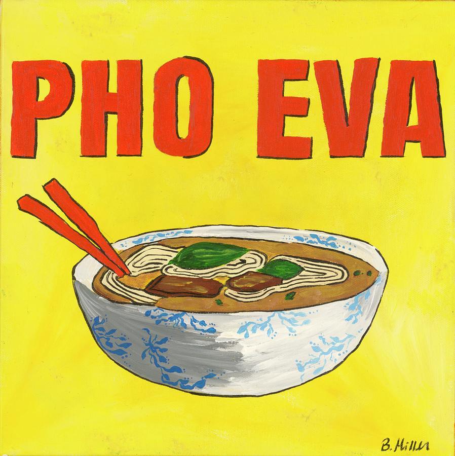 Pho Painting - Pho Eva by Britt Miller