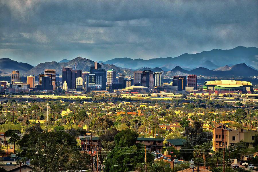 Phoenix, Arizona Skyline Photograph