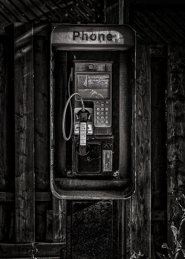 Phone Booth No 28 Photograph