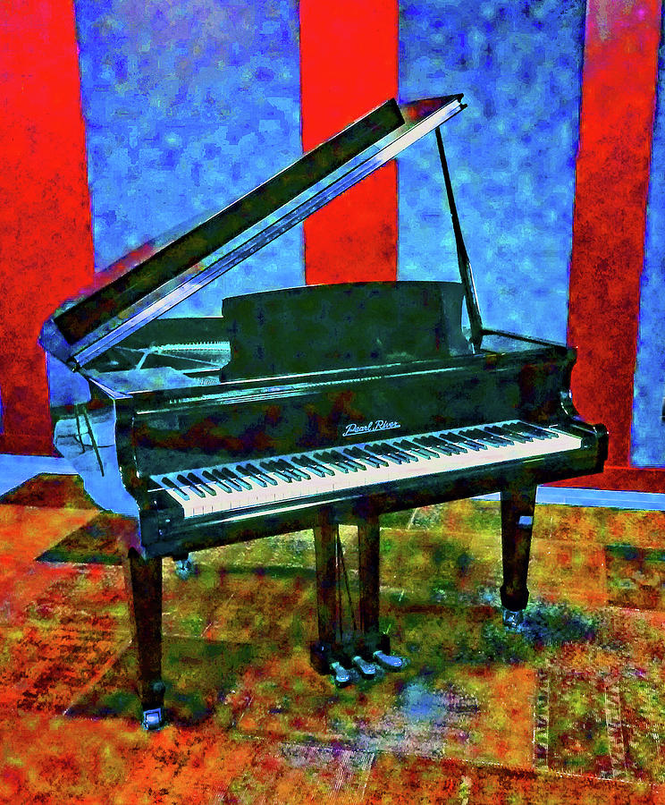 Portrait of a Piano by Andrew Lawrence